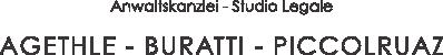 Logo - Anwaltskanzlei Agethle-Buratti-Piccolruaz